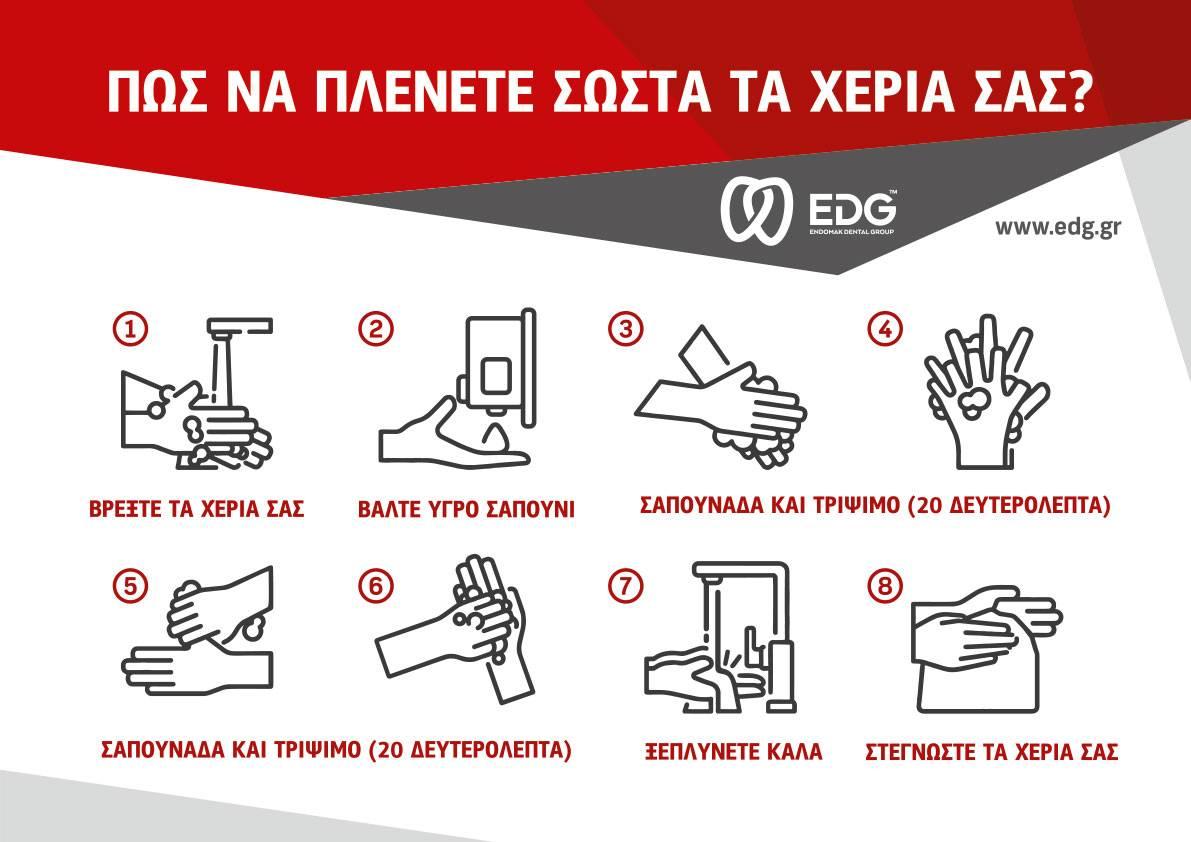 EDG WASHING HANDS PRINT